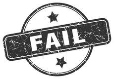 Selo da falha ilustração do vetor