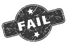Selo da falha ilustração stock