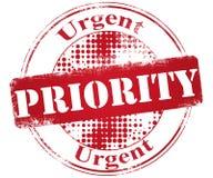 Selo da prioridade Fotos de Stock Royalty Free