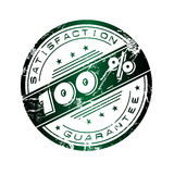 Selo da satisfação Imagem de Stock