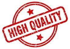 Selo de alta qualidade ilustração royalty free