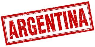 Selo de Argentina ilustração stock