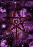Selo de Astaroth Imagem de Stock Royalty Free