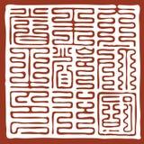 Selo de China Ilustração do Vetor