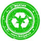 Selo de Eco Fotos de Stock