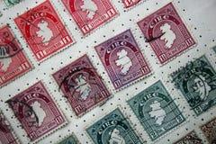 Selo de Eire do vintage fotografia de stock royalty free