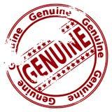Selo de Grunge GENUÍNO Fotografia de Stock Royalty Free