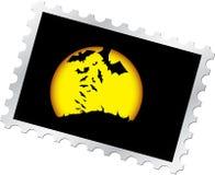 Selo de porte postal - 13. Noite de Halloween Fotografia de Stock