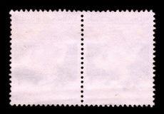 Selo de porte postal do fundo. Imagens de Stock