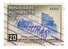 Selo de porte postal do vintage Imagens de Stock Royalty Free