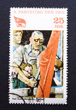 Selo de porte postal oriental do vintage Imagens de Stock