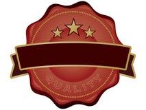 Selo de qualidade Imagem de Stock Royalty Free