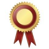 Selo de qualidade do molde - vermelho Fotografia de Stock Royalty Free