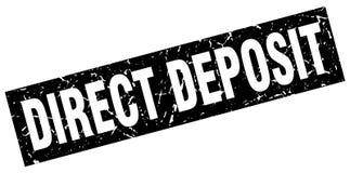 Selo direto do depósito ilustração stock