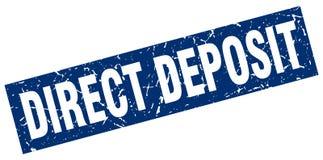 Selo direto do depósito ilustração do vetor