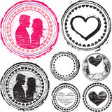 Selo do amor Imagem de Stock Royalty Free