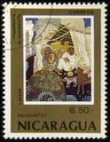 Selo do cargo de Nicarágua imagem de stock royalty free