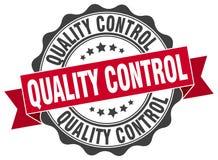 selo do controle da qualidade selo ilustração stock
