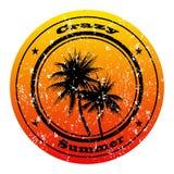Selo do grunge do verão Imagem de Stock Royalty Free