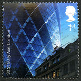 30 selo do St Mary Axe Postage Imagem de Stock Royalty Free