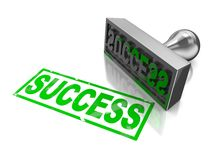 Selo do sucesso Imagem de Stock Royalty Free