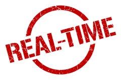 selo do tempo real ilustração do vetor