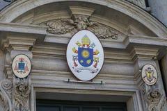 Selo do Vaticano imagens de stock royalty free