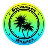 Selo do verão Fotografia de Stock Royalty Free