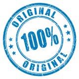 selo do vetor de 100 originais ilustração stock