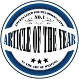 Selo do vetor para escritores ilustração stock