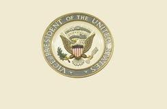 Selo do vice-presidente do Estados Unidos fotos de stock royalty free