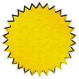 Selo dourado Fotografia de Stock Royalty Free