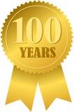 Selo e fita centenários/eps Imagem de Stock Royalty Free