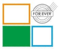 Selo em branco do borne (vetor) ilustração do vetor