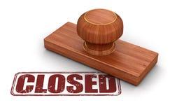 Selo fechado Imagens de Stock