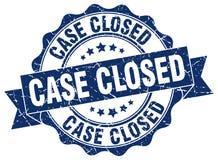 selo fechado do caso selo ilustração stock