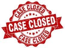 selo fechado do caso selo ilustração royalty free