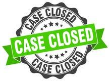 selo fechado do caso selo ilustração do vetor