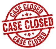 Selo fechado do caso ilustração royalty free