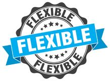 Selo flexível ilustração stock