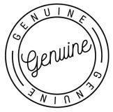 Selo genuíno ilustração stock