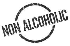 selo não alcoólico ilustração stock