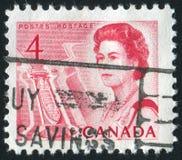 Selo postal fotografia de stock royalty free
