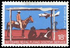 Selo postal - Austrália Fotos de Stock Royalty Free