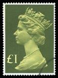 Selo postal BRITÂNICO imagem de stock