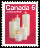 Selo postal - Canadá fotos de stock