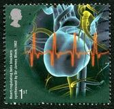 Selo postal de Beta Blockers Reino Unido fotografia de stock