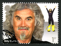 Selo postal de Billy Connolly Reino Unido fotos de stock royalty free