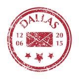 Selo postal de Dallas Fotos de Stock Royalty Free