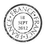 Selo postal de França Fotos de Stock Royalty Free